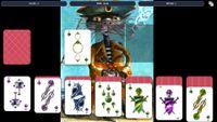 Video Game: Solitaire - Cat Pirate Portrait