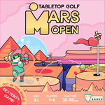 Board Game: Mars Open: Tabletop Golf