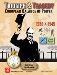 Board Game: Triumph & Tragedy: European Balance of Power 1936-1945