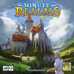 Minute Realms, dV Giochi, 2017 — front cover (image provided by the publisher)