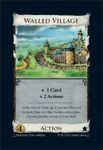 Board Game: Dominion: Walled Village Promo Card