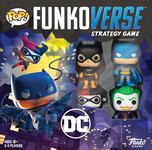 Board Game: Funkoverse Strategy Game: DC Batman 100