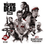 Board Game: The Walking Dead: No Sanctuary
