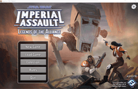 Board Game: Star Wars: Imperial Assault – Legends of the Alliance