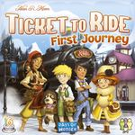 Board Game: Ticket to Ride: First Journey (Europe)