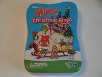 Board Game: The Grinch Christmas Bingo Game