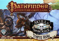 Board Game: Pathfinder Adventure Card Game: Skull & Shackles Adventure Deck 3 – Tempest Rising