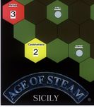 Board Game: Age of Steam Expansion: Sicily