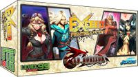 Board Game: Exceed: Red Horizon – Reese, Heidi, Nehtali, and Vincent