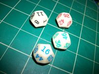 Board Game: Go First Dice