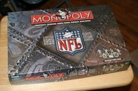 Board Game: Monopoly: 1999 NFL Gridiron