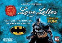 Board Game: Love Letter: Batman