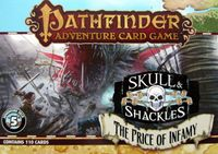 Board Game: Pathfinder Adventure Card Game: Skull & Shackles Adventure Deck 5 – The Price of Infamy