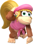 Character: Dixie Kong