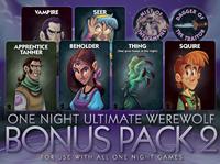 Board Game: One Night Ultimate Werewolf: Bonus Pack 2