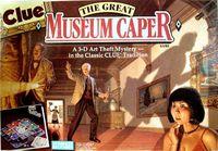 Board Game: Clue: The Great Museum Caper