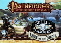Board Game: Pathfinder Adventure Card Game: Skull & Shackles Adventure Deck 2 – Raiders of the Fever Sea