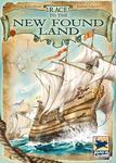 Race to the New Found Land, Hans im Glück, 2018 — front cover (image provided by the publisher)