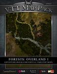 RPG Item: VTT Map Pack: Forests: Overland 1