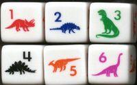 Board Game: Dino Dice