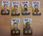 Board Game: Near and Far: Secret Cabal Character Tiles