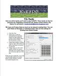 RPG Item: KaRdPG: the Kards