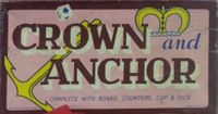 Board Game: The Game of Crown and Anchor