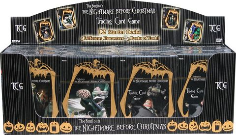 The Nightmare Before Christmas TCG | Board Game | BoardGameGeek