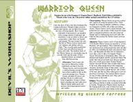 RPG Item: Warrior Queen