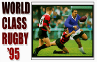 Video Game: World Class Rugby '95