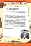 RPG Item: Threat Report #24: Kid Karma