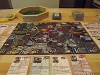 Board Game: Dawn of the Zeds (Second edition)