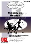RPG Item: The Lazy GM: Undead and Other Fell Foes