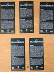 RPG Item: Shadowrun Bookmarks