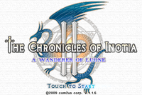 Video Game: The Chronicles of Inotia 2: A Wanderer of Luone