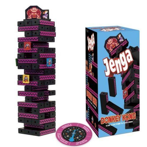 Board Game: Jenga: Donkey Kong Collector's Edition