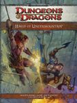 RPG Item: Halls of Undermountain: A 4th Edition Dungeons and Dragons Supplement