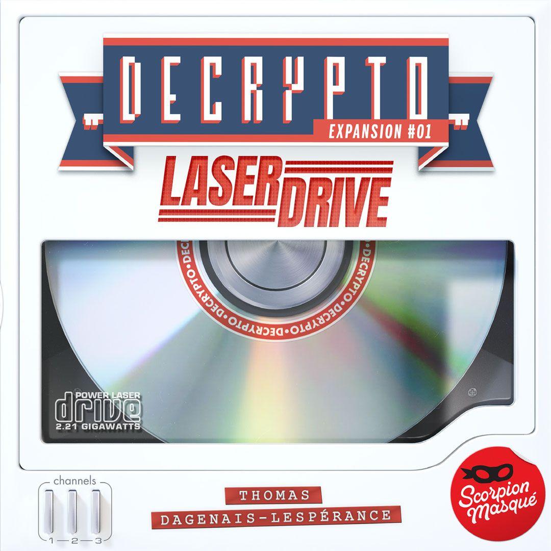 Decrypto: Expansion #01 – Laserdrive