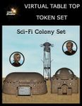 RPG Item: Virtual Table Top Token Set: Sci-Fi Colony Set