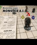 RPG Item: Monstrous Logic Monster A.I. - Orcs and Goblins