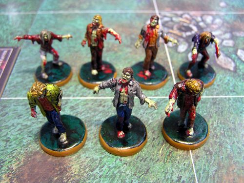 Board Game: Last Night on Earth: The Zombie Game
