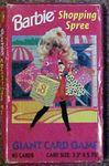 Board Game: Barbie Shopping Spree Card Game