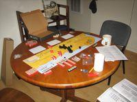 Setup for El Alamein scenario