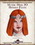 RPG Item: Mythic Minis 070: Human Feats