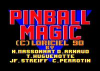 Video Game: Pinball Magic