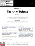 RPG Item: The Art of Defence