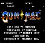 Video Game: Gun Nac