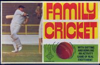 Board Game: Family Cricket