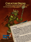 RPG Item: Creature Decks: 54 Humanoids & Monstrous Humanoids (Generic)