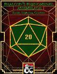 RPG Item: Phalcon's Phenomenal Assemblage: Races, Subraces, Culture
